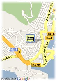 map-Grupotel Valparaiso Palace