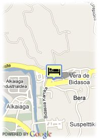 map-Hotel Churrut