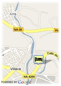 map-Hotel Pamplona Villava