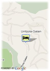 map-Hotel Mirador De Ulzama Golf Spa