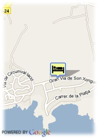map-Grupotel Club Turquesa Mar