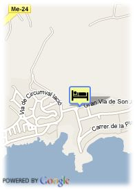 map-Grupotel Club Menorca