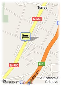 map-Hotel San Vicente
