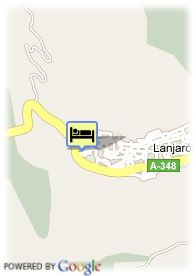 map-Hotel Castillo  Lanjaron
