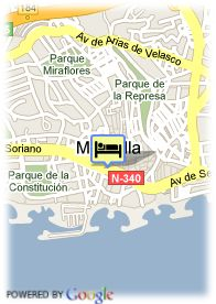 map-Hotel San Cristobal