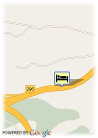 map-Hotel Abades Guadix