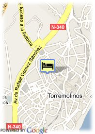 map-Hotel Griego Mar