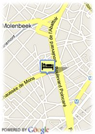 map-Hotel Van Belle