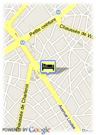 map-Hotel Floris Louise