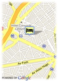 map-Hotel Harvey