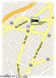 map-Hotel Prony