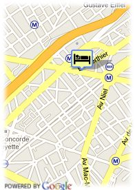 map-Hotel Champerret Elysees
