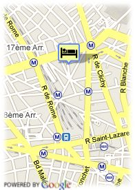 map-Hotel Elysees Opera