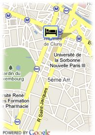 map-Hotel Central Saint Germain