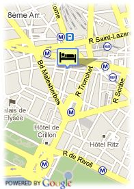 map-Hotel Le Mathurin