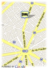 map-Hotel Waldorf Arc Triomphe Hotel & Spa