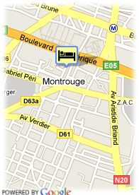 map-Quality Hotel Paris Orleans