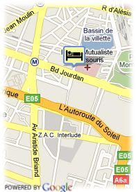 map-Villa Royale Montsouris