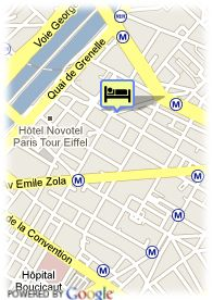 map-Hotel Arley Tour Eiffel