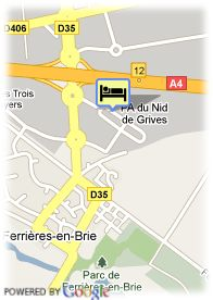 map-Paxton Residence Hotel Spa