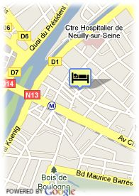 map-Hotel Du Chateau