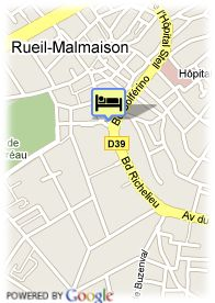 map-Hotel Quality Cardinal Rueil