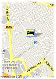 map-Hotel George Sand