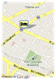 map-Hotel Convention Montparnasse