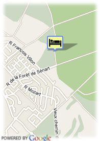 map-Best Western Colonial Country Club D´Etiolles