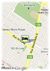 map-B&B Café Cherrier