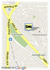 map-Buda Castle Fashion Hotel