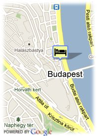 map-Hotel Eurostars Budapest Center