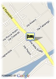 map-Hotel Club Isola Sacra
