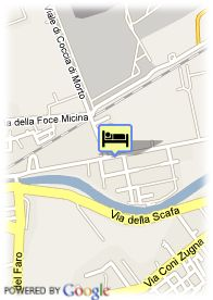 map-Hotel Cancelli Rossi Rome Airport