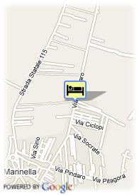 map-Grand Hotel Selinunte