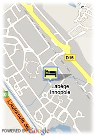 map-Appart'City Toulouse Labège