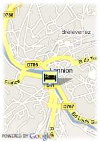 map-Appart'City Lannion