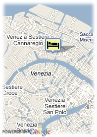 map-Hotel Tintoretto