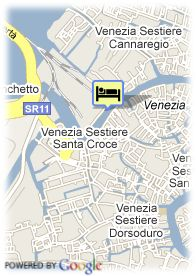 map-Hotel Carlton On The Grand Canal