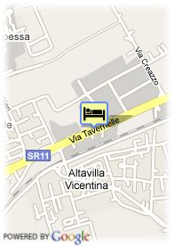 map-Best Western Hotel Tre Torri