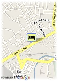 map-Hotel B4 Vicenza De La Ville by Boscolo