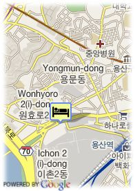 map-Koreana Hotel