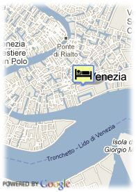 map-Hotel Palazzo Selvadego