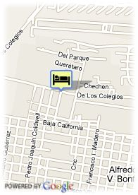 map-Hotel Sens Cancun