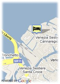 map-Hotel Residenza Cannaregio