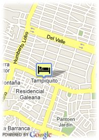 map-Presidente Intercontontinental Monterrey