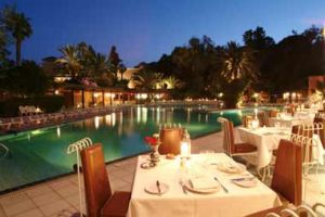 Hotel Es Saadi Gardens Resort in Marrakech
