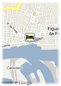 map-Hotel Costa Da Prata