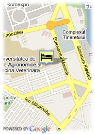 map-Hotel Residence Domenii Plaza-Business And Wellness