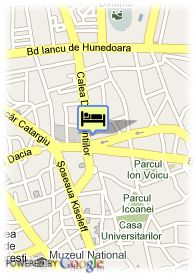 map-Hotel Victoria Bucarest